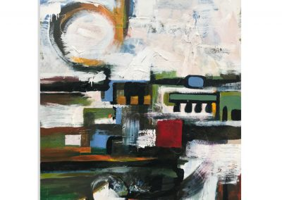 Plan View abstract painting