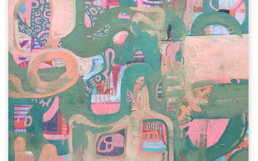 Miscellany green painting